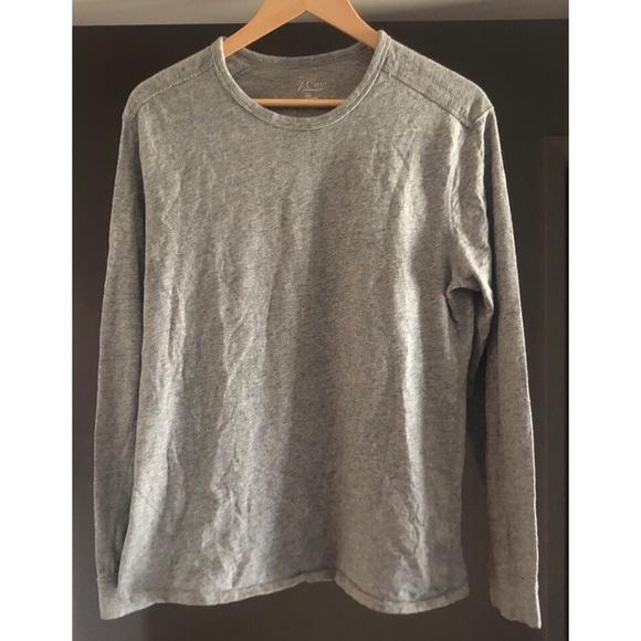 arriving differently sale online J. Crew Shirts | J Crew Mens Knit Goods Long Sleeve Shirt Medium ...
